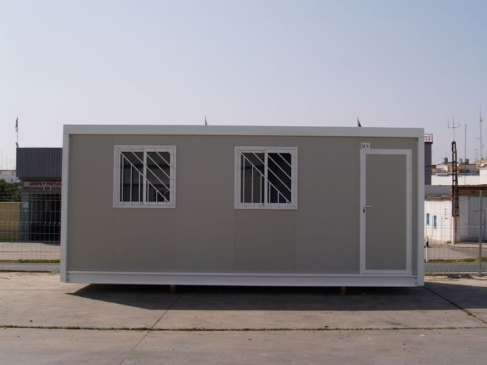 Moduarag n casetas de obra m dulos prefabricados - Modulos de vivienda prefabricados ...